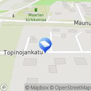 Kartta Vertie Ky Turku, Suomi
