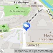 Kartta Pargas-Nagu Skattetjänst / Paraisten-Nauvon veropalvelu Pargas, Suomi