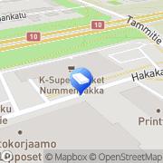 Kartta Kiinteistö Oy Turun Hakakatu 12 Turku, Suomi