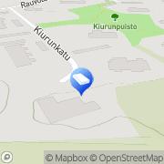 Kartta Mainostoimisto Dippi Piispanristi, Suomi
