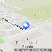 Kartta Indixon Oy Piispanristi, Suomi