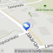 Kartta Jäkärlän Huolto Oy Turku, Suomi