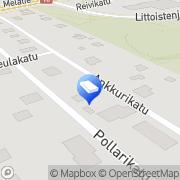 Kartta Turun Asuntosaneeraus Oy Turku, Suomi