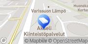 Kartta Varissuon Lämpö Oy Turku, Suomi