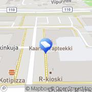 Kartta Kaarinan Lukko Kaarina, Suomi