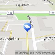 Kartta AIRIX Talotekniikka Oy Kaarina, Suomi