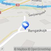 Kartta Intercity-Trans Oy Vanhalinna, Suomi