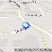Kartta Aura-Trans Oy Lieto, Suomi