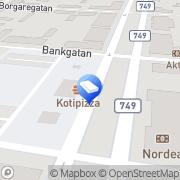 Kartta Grafiskt o. kreativt Uusikaarlepyy, Suomi