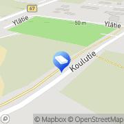 Kartta Ilmajoen kunta Ahonkylän neuvola Ahonkylä, Suomi