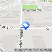 Kartta ISS Palvelut Oy Pietarsaari, Suomi
