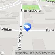 Kartta Autokoulu Driver' s Pietarsaari, Suomi