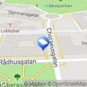 Kartta Pietarsaaren kaupunki Tomtebon päiväkoti Pietarsaari, Suomi