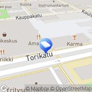 Kartta Tilitoimisto Sari Poola Oy Seinäjoki, Suomi