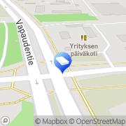 Kartta Seinäjoen kaupunki Yrityksen päiväkoti Seinäjoki, Suomi