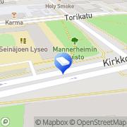 Kartta Kiinteistö Oy Seinäjoen Kampus Seinäjoki, Suomi