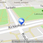 Kartta Isännöitsijätoimisto Pohjanmaan Asuntopalvelu Oy Seinäjoki, Suomi