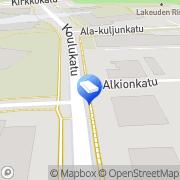 Kartta Tilitoimisto KP-Tilipalvelu Seinäjoki, Suomi