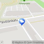 Kartta Seinäjoen kaupunki Pohjan päiväkoti Seinäjoki, Suomi