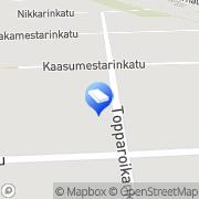 Kartta Atfox Solution Tmi Seinäjoki, Suomi
