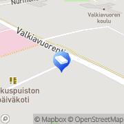 Kartta Seinäjoen kaupunki Keskuspuiston päiväkoti Nurmo, Suomi