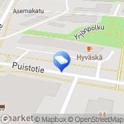 Kartta Tilitoimisto Rautakorpi Vesa Lapua, Suomi