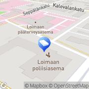 Kartta Lounais-Suomen verovirasto Loimaan verotoimisto Loimaa, Suomi