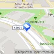 Kartta ISS Palvelut Oy Salo, Suomi