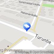 Kartta Salon Leinotilit Oy Salo, Suomi