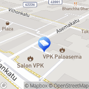 Kartta Salon VPK Salo, Suomi