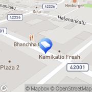 Kartta Salon Yritystilit Oy Salo, Suomi