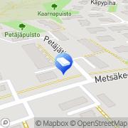 Kartta ATK-Syke Oy Salo, Suomi