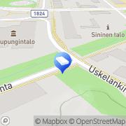 Kartta Montessori-päiväkoti Aurinkoleijona Oy Salo, Suomi