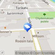 Kartta Asianajotoimisto Ch. Eriksson Kokkola, Suomi