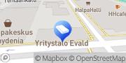 Kartta HanhisaloLaw Lakiasiaintoimisto Oy Kokkola, Suomi