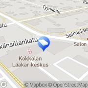 Kartta Arkman Arkkitehtuuri Oy Kokkola, Suomi