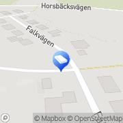 Kartta Kjell Pihlström F:ma Dragsvik, Suomi