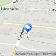 Kartta Creaman Nokia, Suomi
