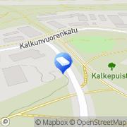 Kartta Päivin Pidot Tampere, Suomi