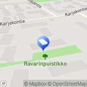 Kartta Näsin Sähköpalvelut Tampere, Suomi