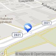 Kartta Takorax Forssa, Suomi