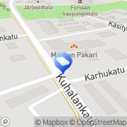 Kartta Kyläantenni / Forssan toimipiste Forssa, Suomi