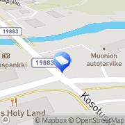 Kartta Muonion Erkin Rinne Kiinteistö Oy Muonio, Suomi