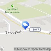 Kartta Tilitoimisto Mäkelä &  Jungell Oy Kaustinen, Suomi