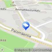 Kartta EJ Halme Oy Tampere, Suomi