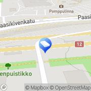 Kartta As. Oy Sotkankulma Tampere, Suomi