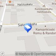 Kartta Open Market  Kiinteistönvälitys Tampere, Suomi