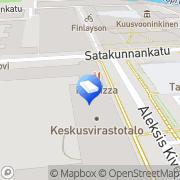 Kartta SOL Pesulapalvelut Tampere, Suomi
