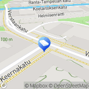 Kartta VALOA design Oy Tampere, Suomi