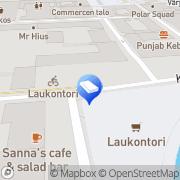 Kartta Asianajotoimisto Aaro Liuksiala &  Co Tampere, Suomi